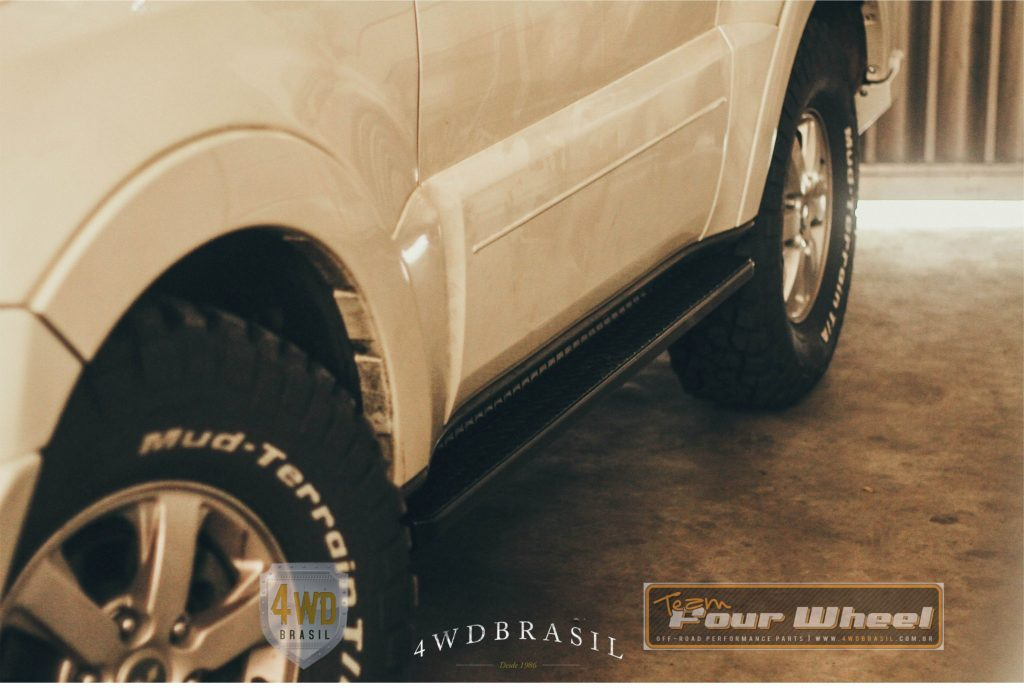 Estribo para Mitsubishi Pajero Full. 4WD Brasil acessórios para OFF ROAD de alta performance